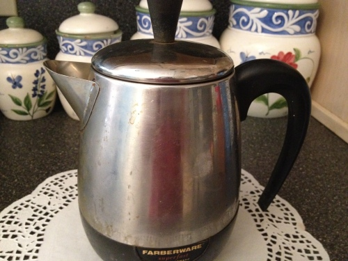 We don't need no Keurig. This is the first coffee pot my parents got when they got married 30 years ago. It still brews awesome coffee.